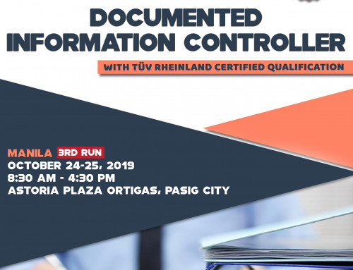 New Course! Be a Certified Document Controller