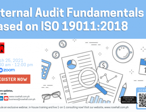 Internal Audit Fundamentals based on ISO 19011:2018
