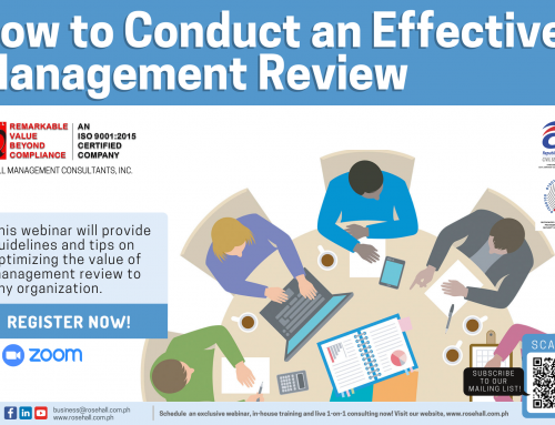 How to Conduct an Effective Management Review