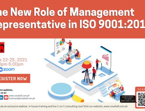 The New Role of Management Representative in ISO 9001:2015