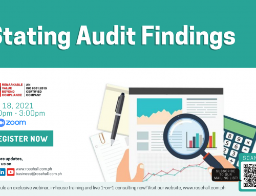Stating Audit Findings