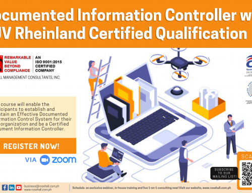 Be a Certified Document Controller Now!
