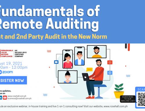 Fundamentals of Remote Auditing