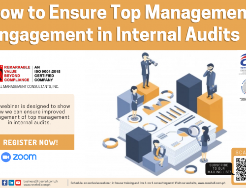 How to Ensure Top Management Engagement in Internal Audits